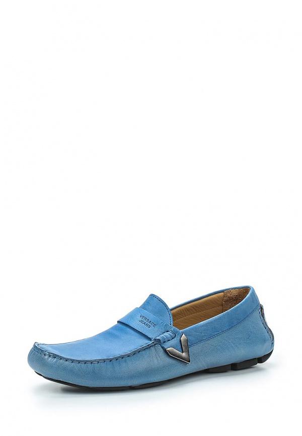 Мокасины Versace Jeans E0YLBS15 синие