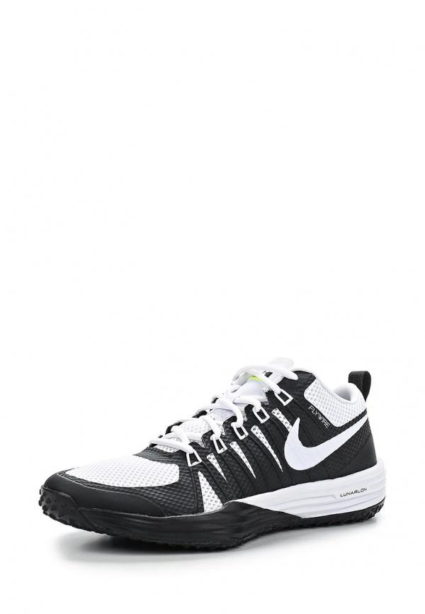 Кроссовки Nike 652808-110 белые, чёрные