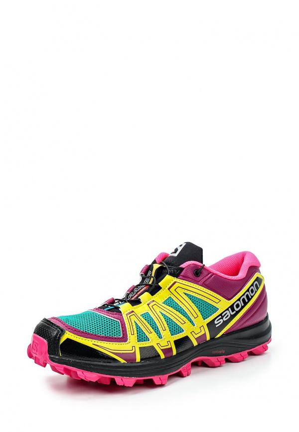 Кроссовки Salomon L36889600 фиолетовые