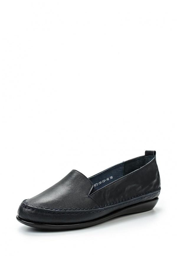 Туфли SHOIBERG 473-36-02-16 синие