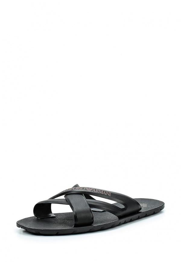 Сланцы Emporio Armani 211516 5P488 чёрные