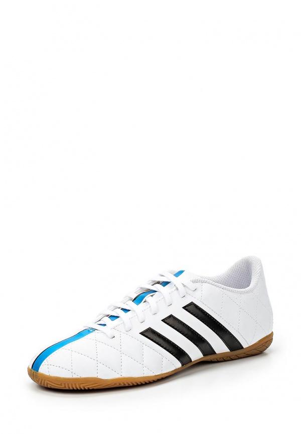 Бутсы зальные adidas Performance B40541 белые