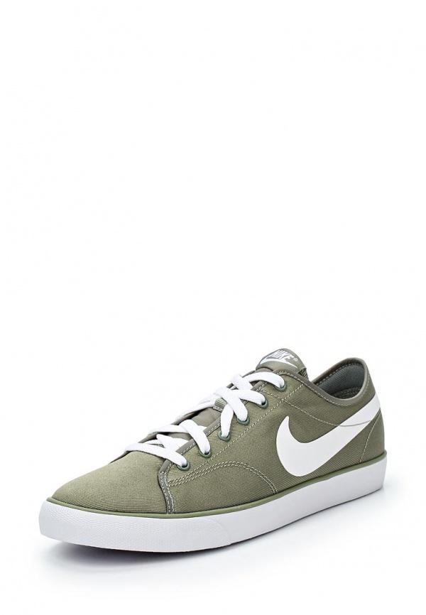 Кеды Nike 631691-310 зеленые