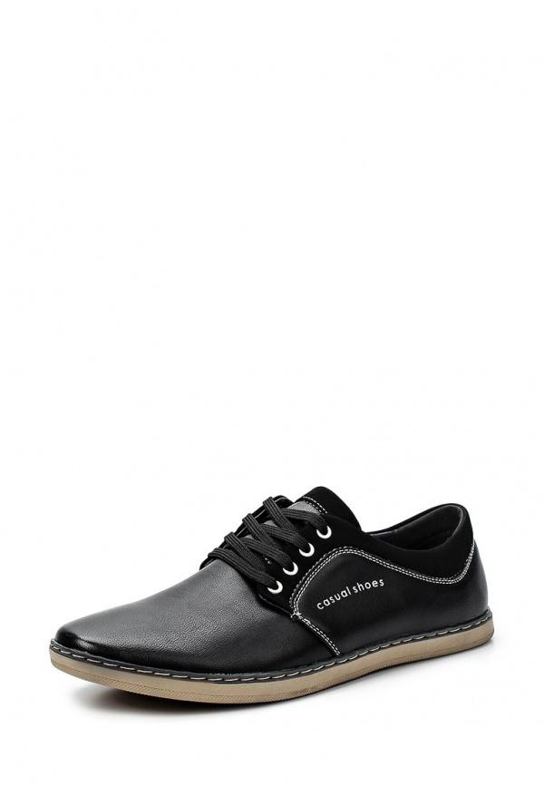Туфли Stesso 601-00E3T-3A чёрные