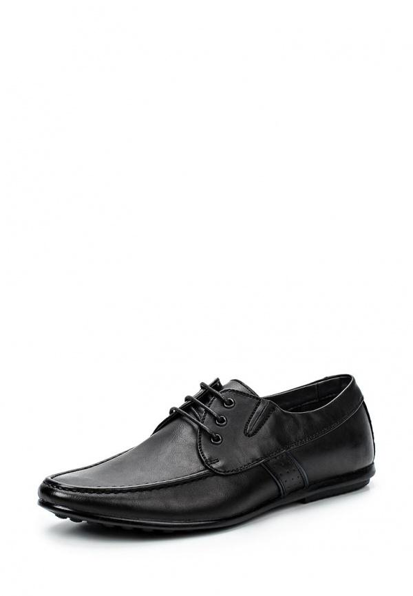 Туфли Stesso 604-00F2U-3A чёрные