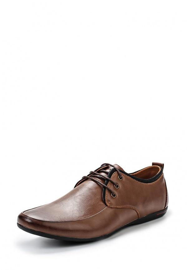 Туфли Stesso 604-00F1U-3A коричневые