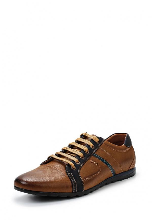 Кроссовки Stesso 604-00F2i-3A коричневые