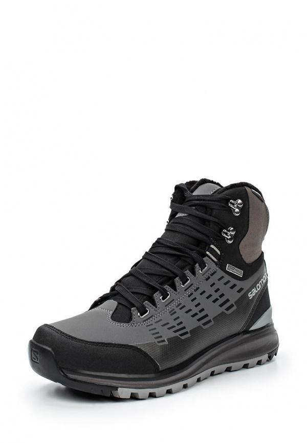 Ботинки трекинговые Salomon L36680800 серые