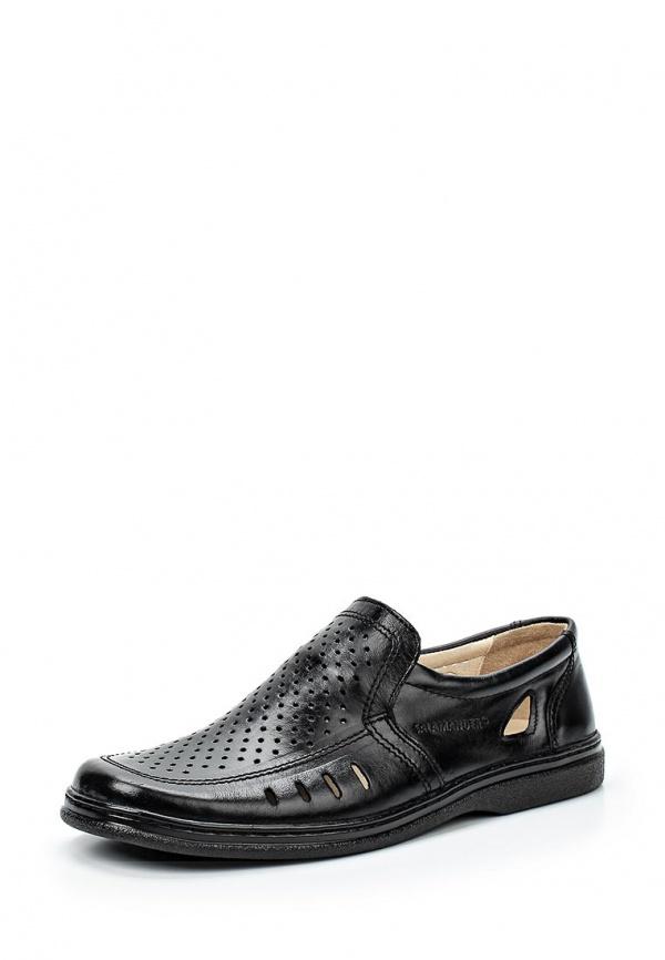 Туфли Salamander 22585 чёрные
