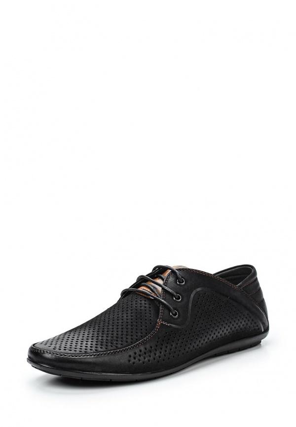 Туфли Stesso 604-0096R-3A чёрные