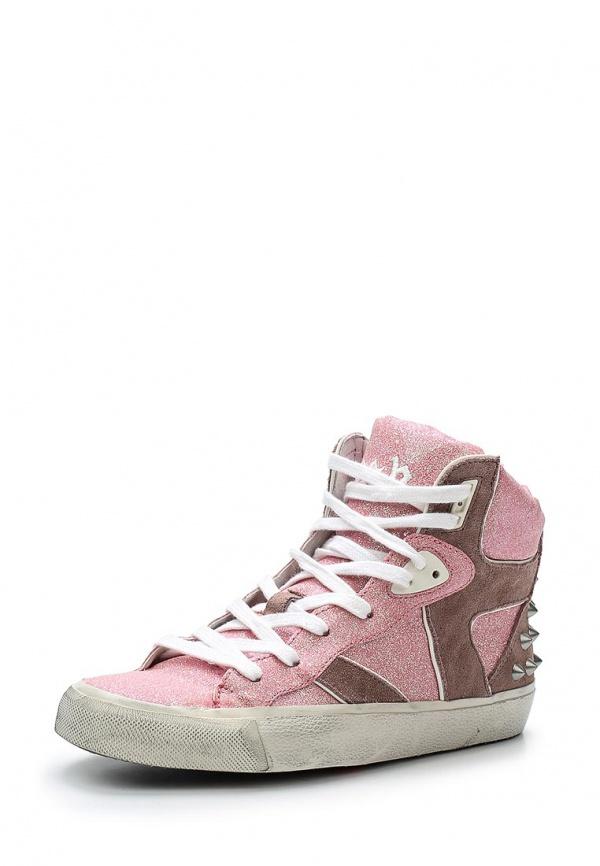 Кеды Ash SONIC (COMBO C) розовые
