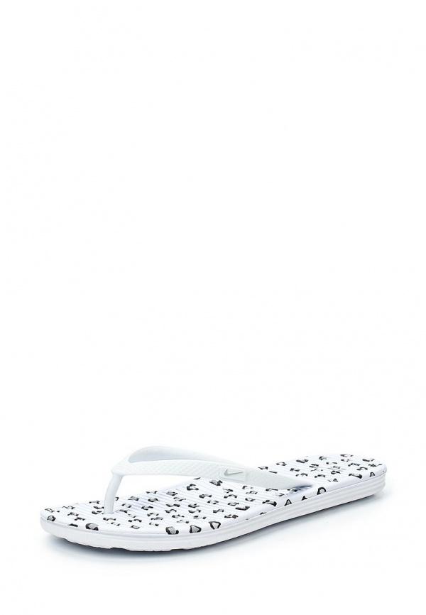 Сланцы Nike 553486-100 белые