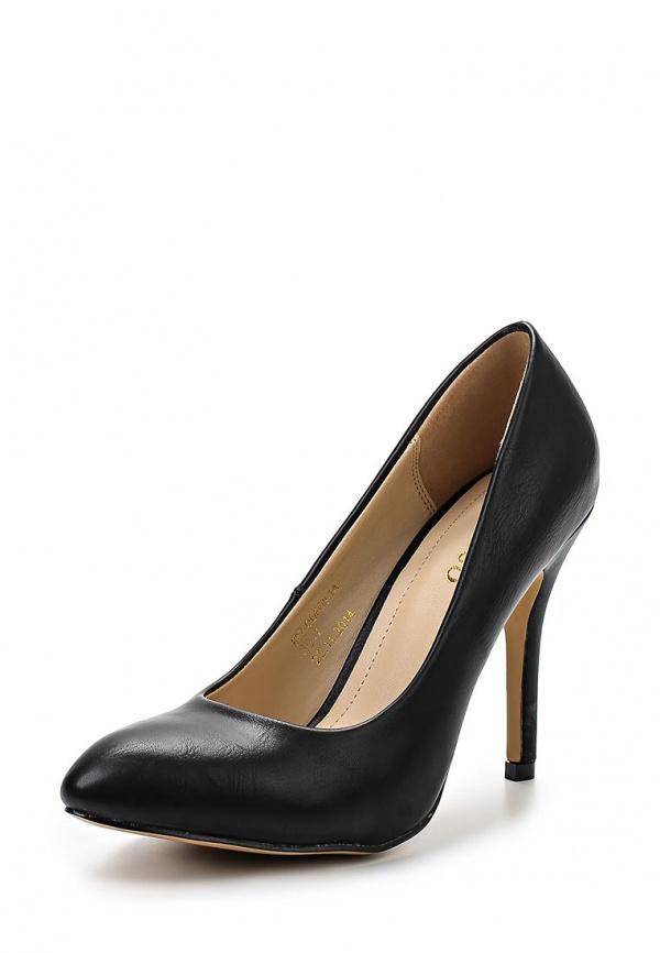 Туфли Stesso 60Z-00F09-1A чёрные