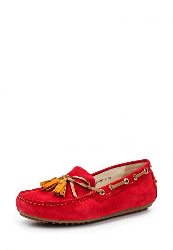 Мокасины Evita EV14361-02-10V-15 красные