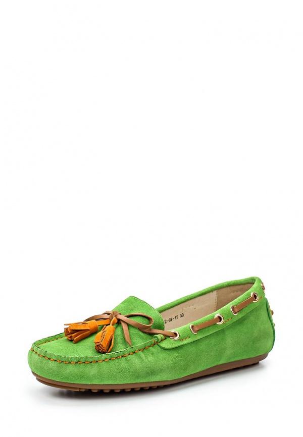 Мокасины Evita EV14361-02-9V-15 зеленые