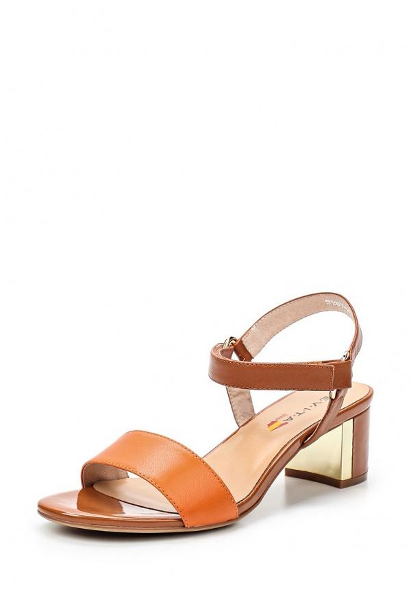 Босоножки Evita EV15076-04-13 коричневые, оранжевые