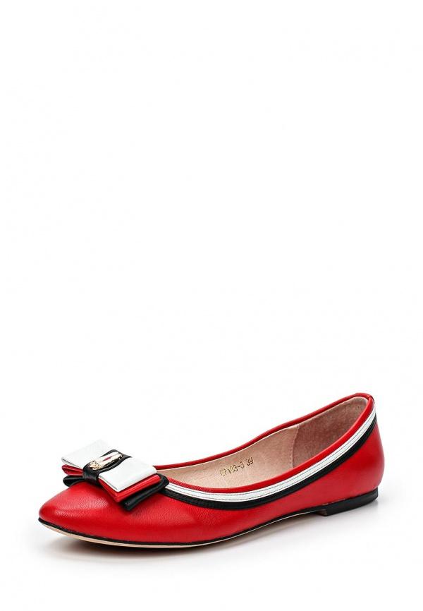 Балетки Just Couture C7183-3 красные