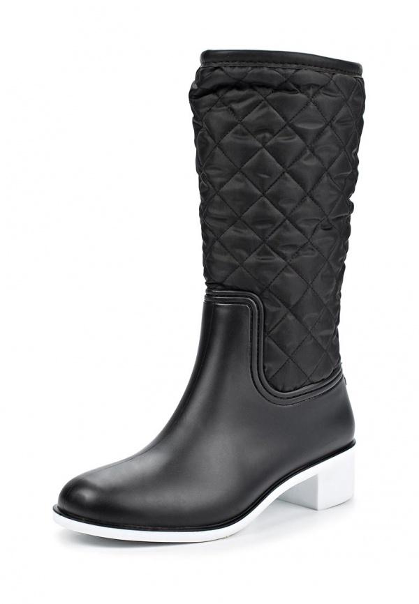 Резиновые сапоги Keddo 328591/101#03 чёрные
