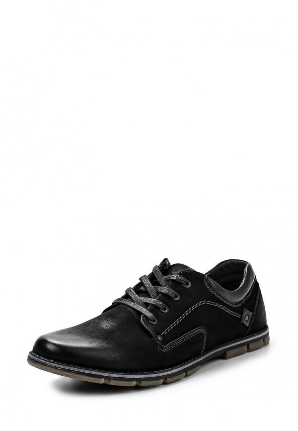 Туфли Stesso 601-00E5Q-3A чёрные