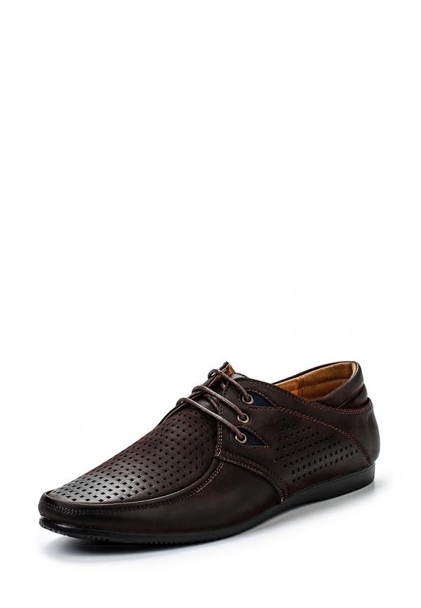 Туфли Stesso 604-0097B-3A коричневые