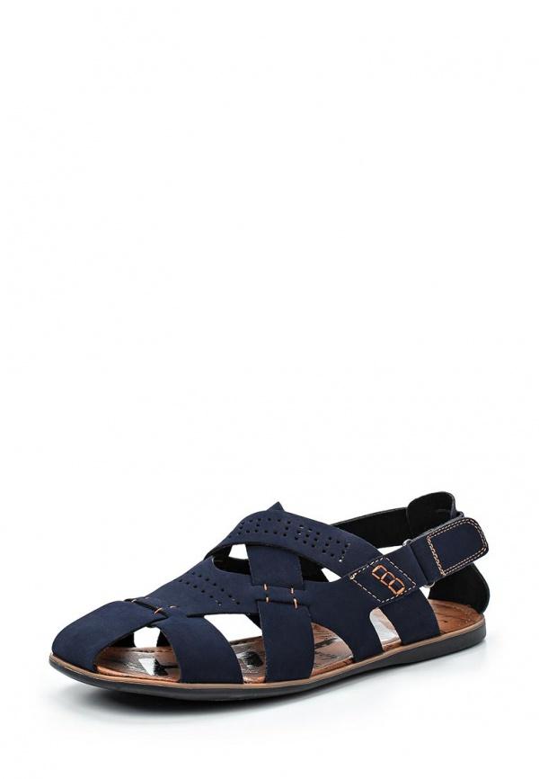 Сандалии Stesso 604-009CW-3A синие