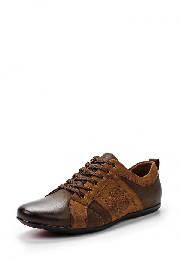Кроссовки Stesso 601-00E2S-3A коричневые