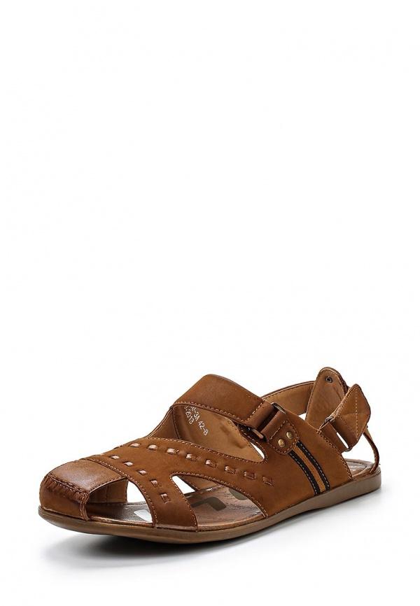 Сандалии Stesso 604-009DU-3A коричневые