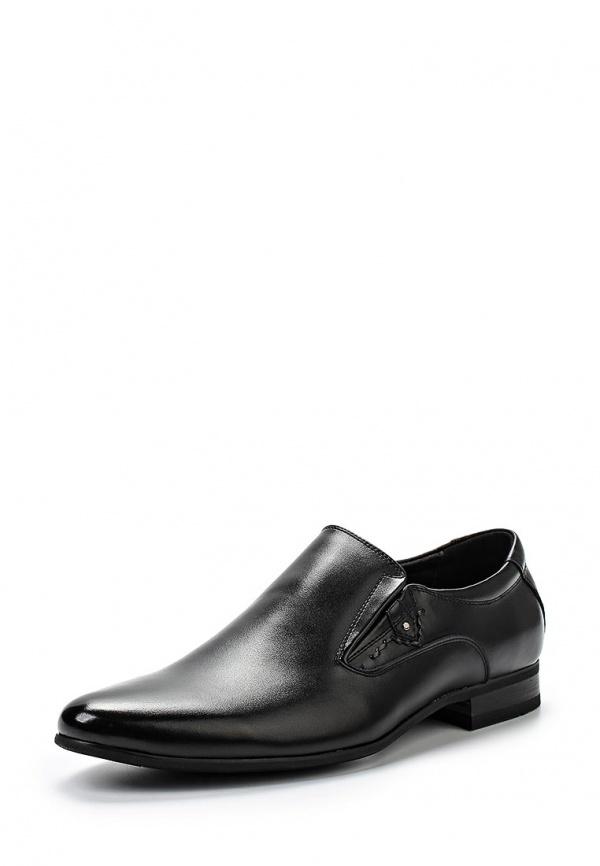 Туфли Zenden 58-27MK-083YK чёрные