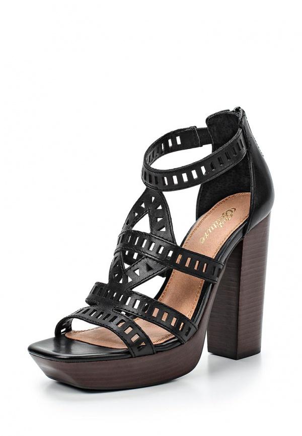 Босоножки Just Couture 302379-1 чёрные