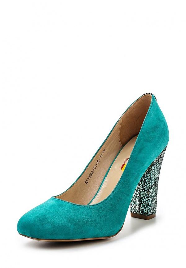 Туфли Evita EV14262-01-9V-15 бирюзовые