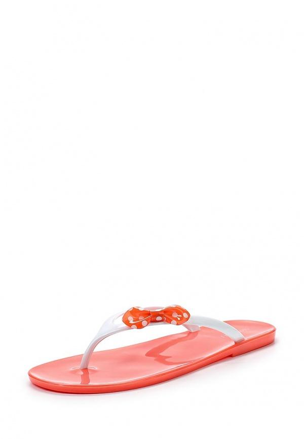 Сланцы Mon Ami 15S-3831 белые, розовые