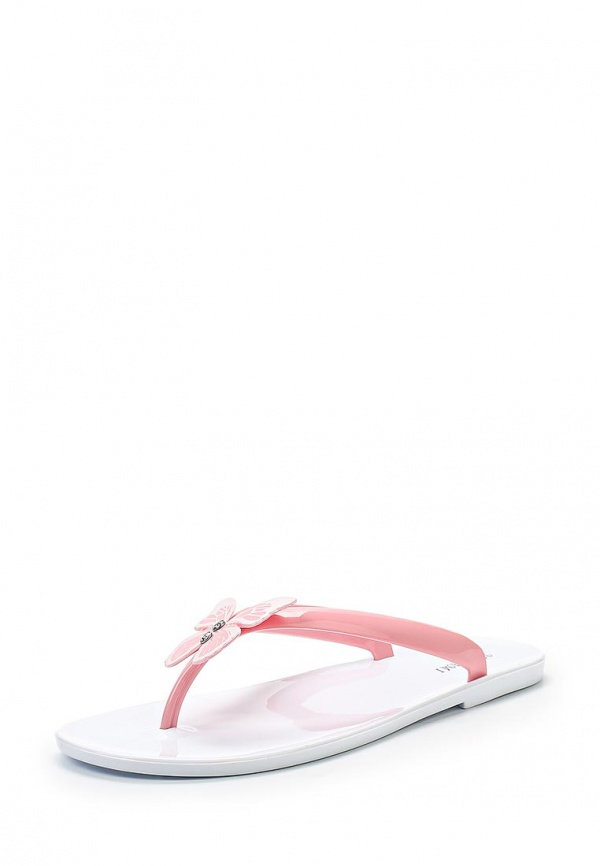 Сланцы Mon Ami 15S-4060 белые, розовые