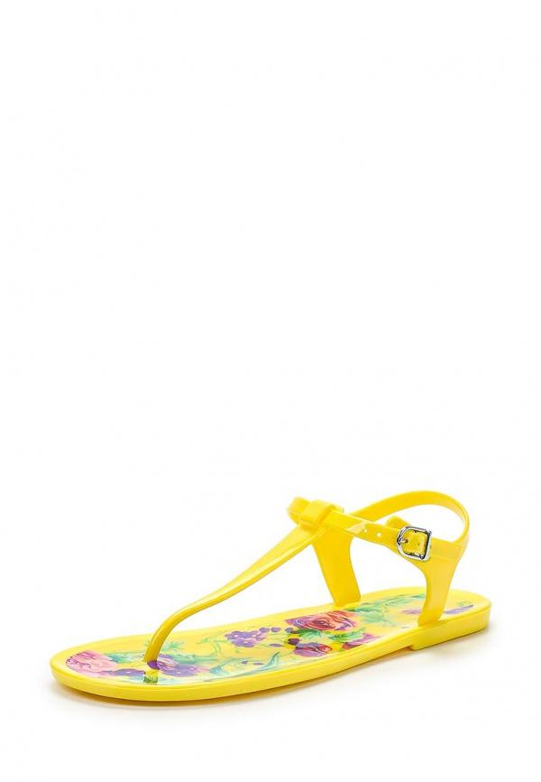 Сандалии Mon Ami 15S-4491 жёлтые