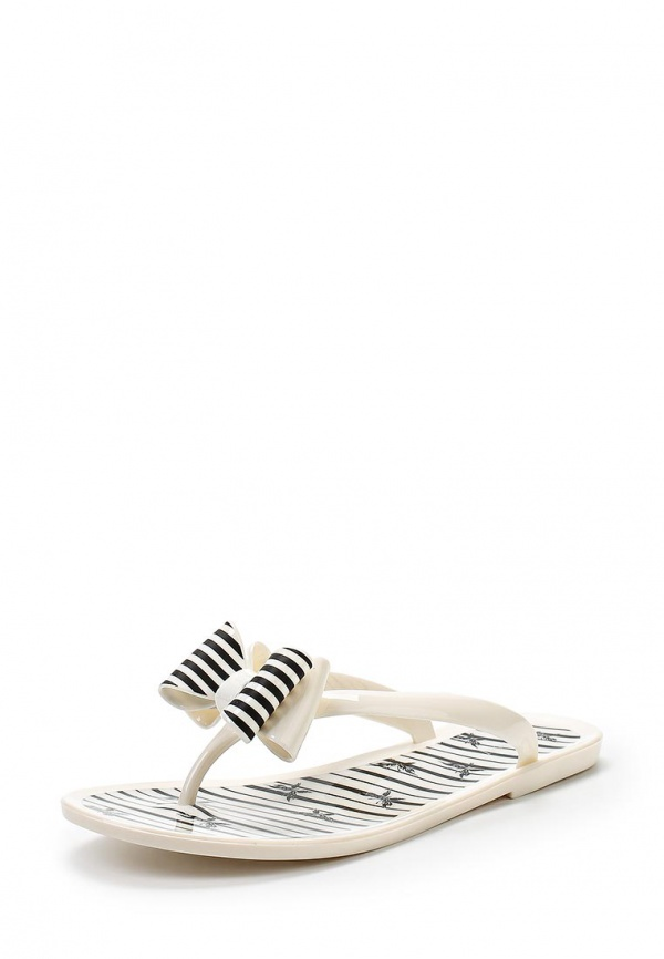 Сланцы Mon Ami 15S-4511 белые