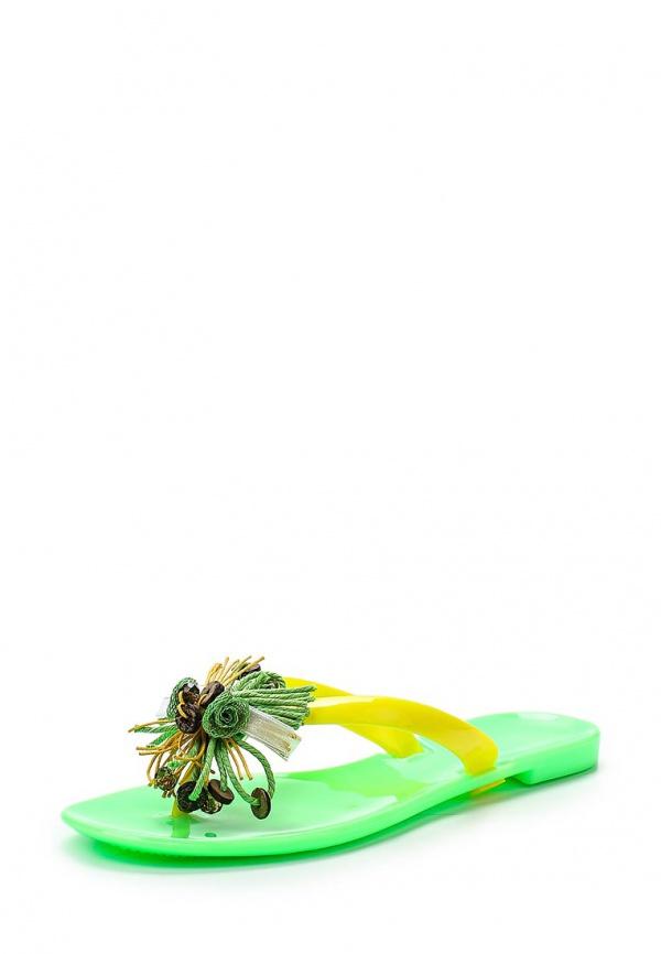 Сланцы Mon Ami S-5280 жёлтые, зеленые