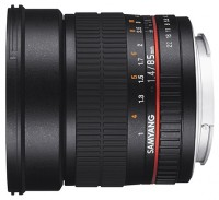 Samyang 85mm f/1.4 AS IF Micro Four Thirds