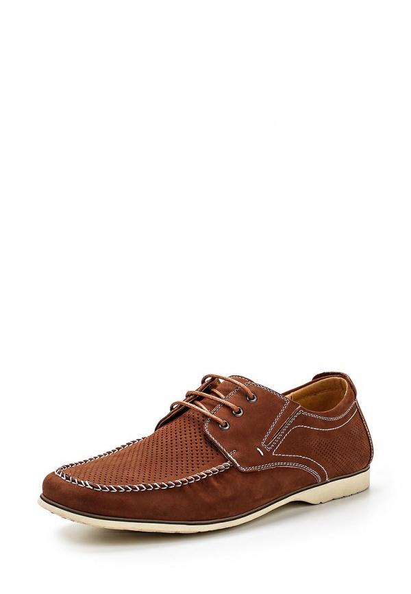 Туфли Quattrocomforto 58-27MK-090NK коричневые