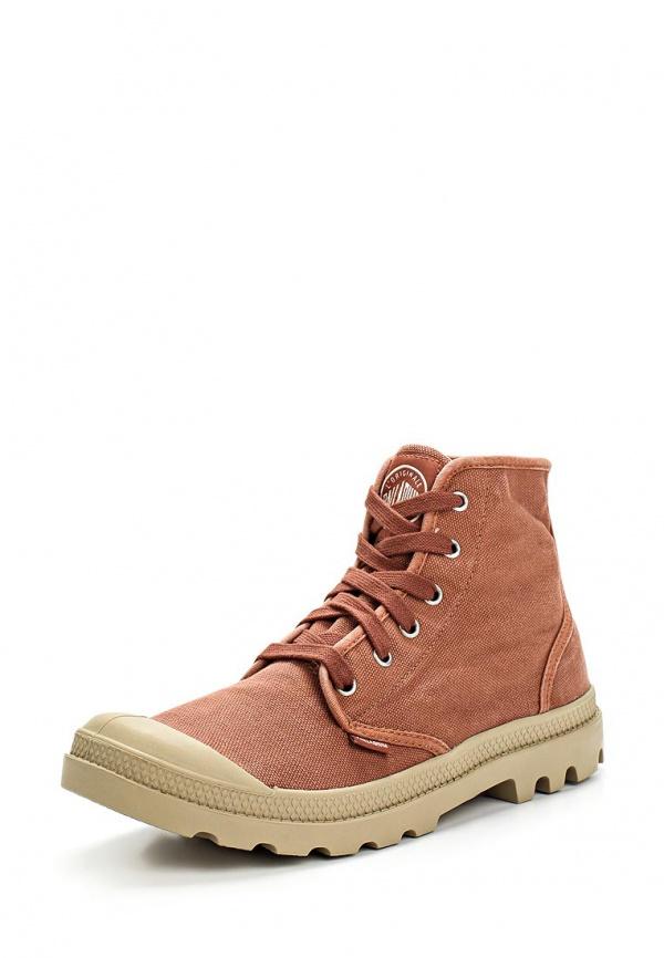 Ботинки Palladium 02352 коричневые