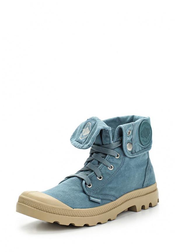 Ботинки Palladium 02353 голубые