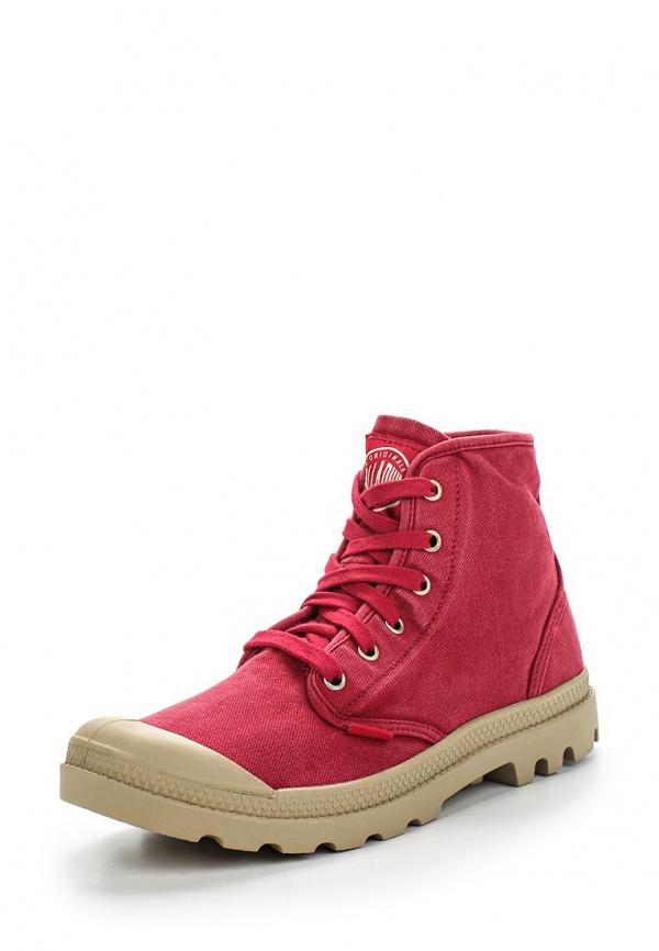Ботинки Palladium 02352 красные