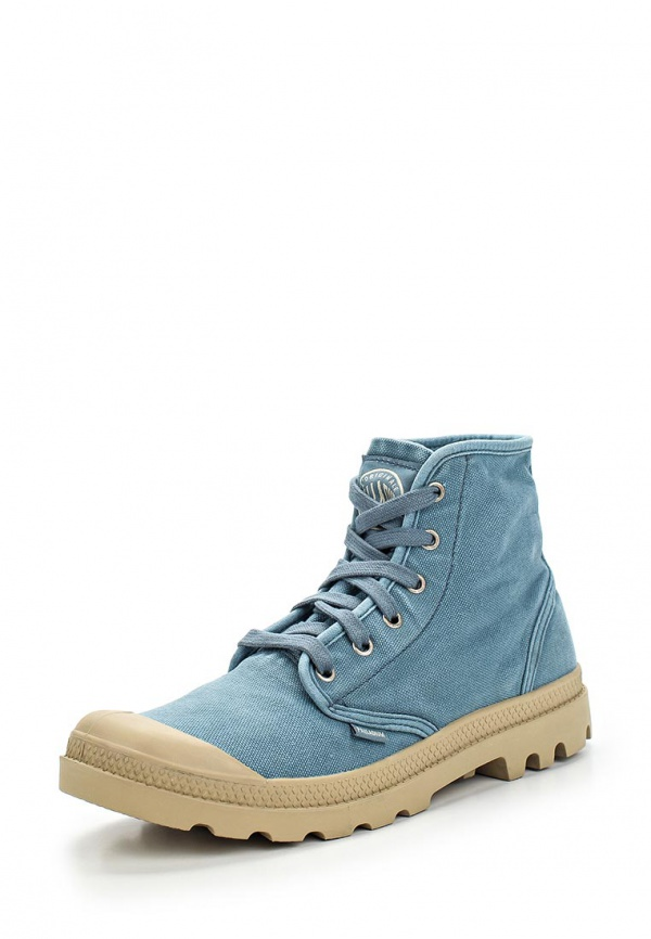 Ботинки Palladium 02352 голубые
