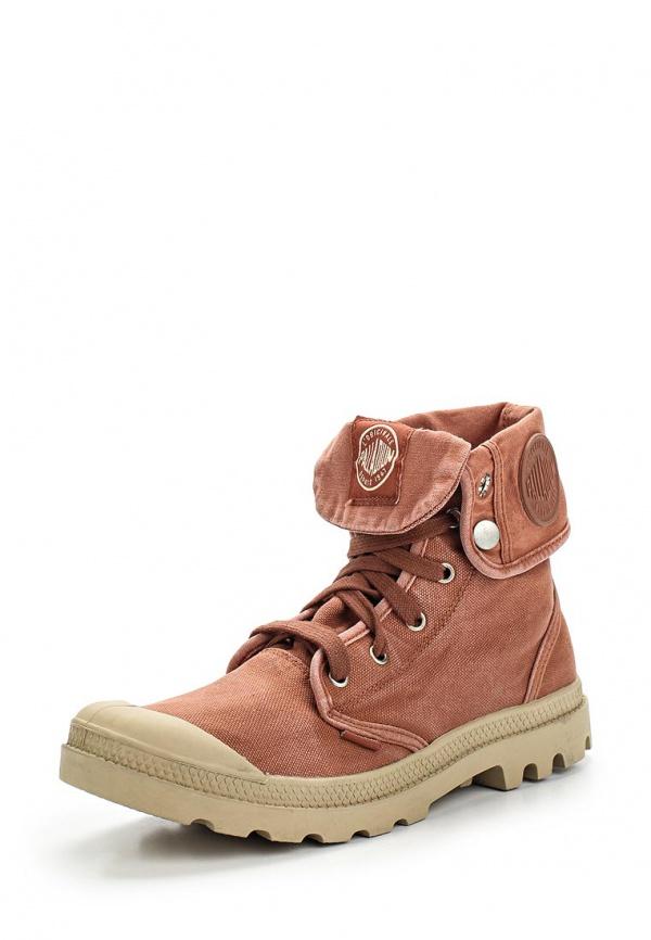 Ботинки Palladium 02353 коричневые