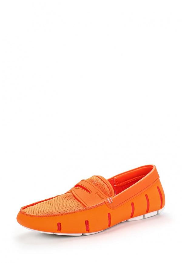 Мокасины Swims 002 оранжевые