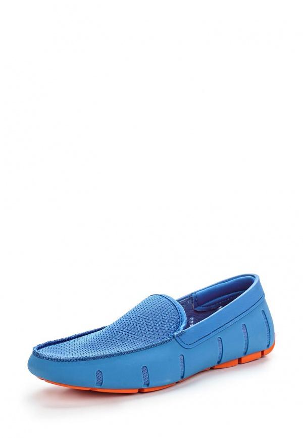 Мокасины Swims 020 голубые