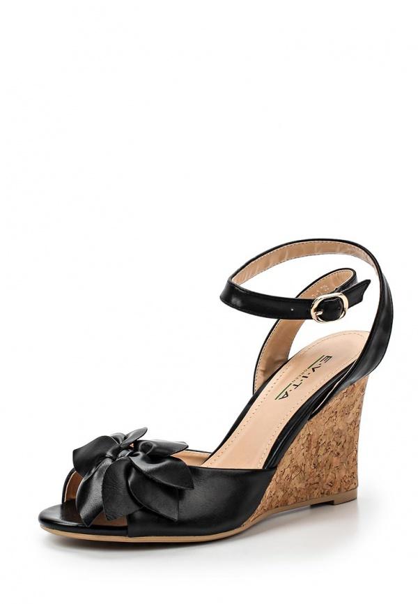 Босоножки Evita EV1013-2-1 чёрные