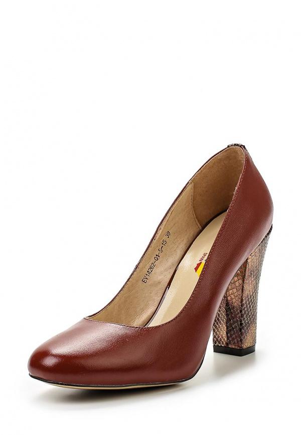 Туфли Evita EV14262-01-5-15 коричневые