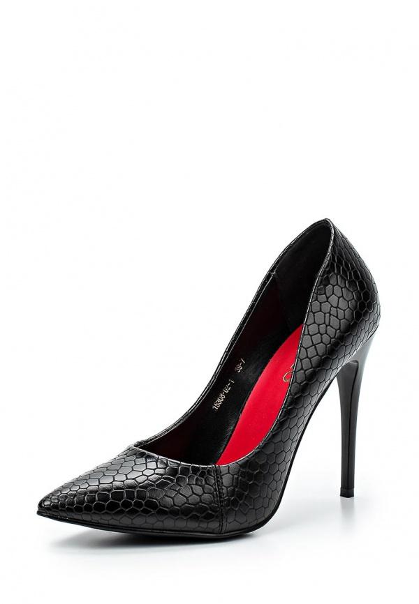 Туфли Inario 15308-02-1 чёрные