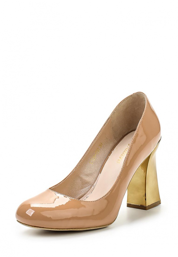 Туфли Just Couture L226-T50 бежевые