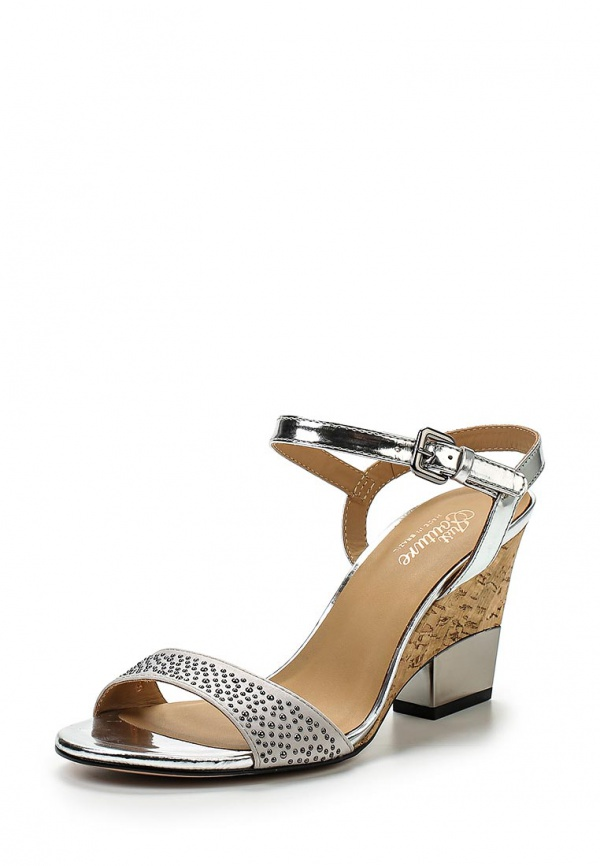 Босоножки Just Couture 2593772 серебристые