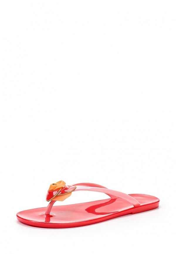 Сланцы Mon Ami 27348 красные, розовые